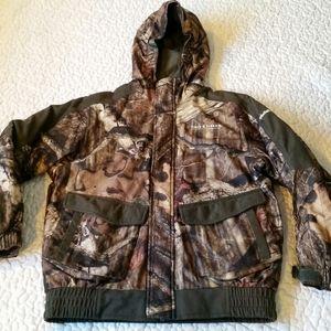 Field & Stream Youth Small Camo Winter Coat Jacket